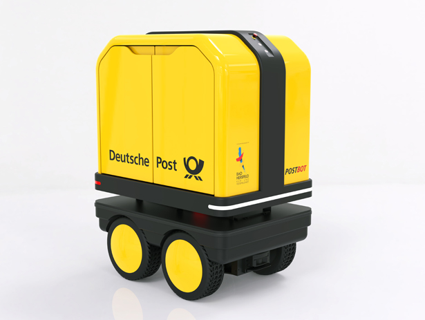 DHL Launched PostBOT – A Self-Propelled Electric Robot
