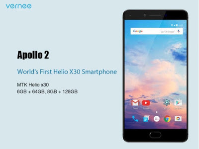 Vernee Apollo 2, Smartphone with 8GB RAM and 128GB internal storage just landed