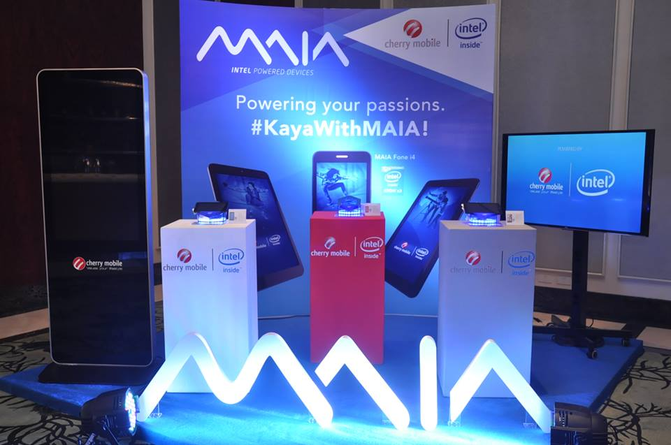 Cherry Mobile launches Intel-powered MAIA Series