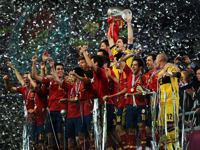 Spain's Euro cup win : Facts and figures behind the win of the champions