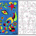 Ode to Joan Miro Mural Diagram