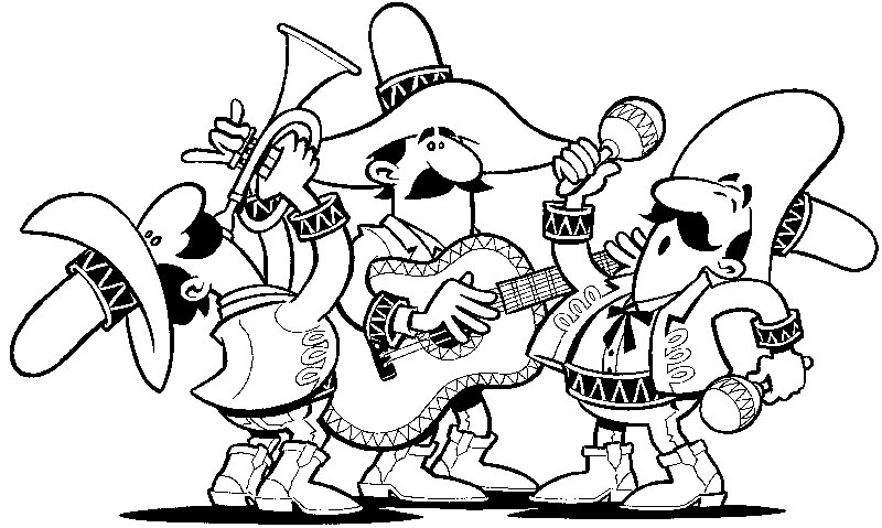 spanish culture coloring pages online - photo#2