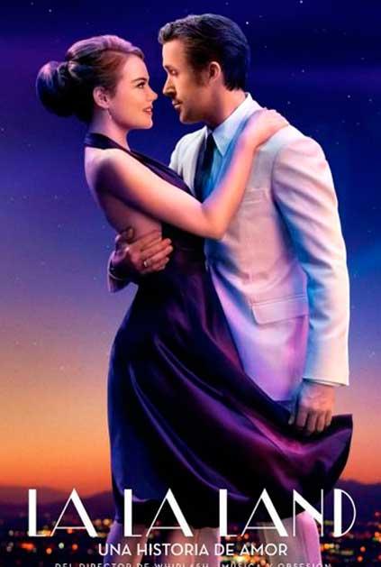 La La Land poster do filme Mia e Sebastian