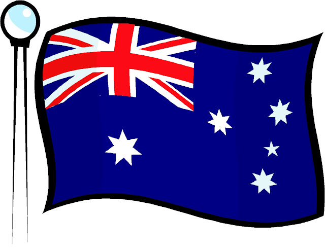 Australia Day Flag Clip Art