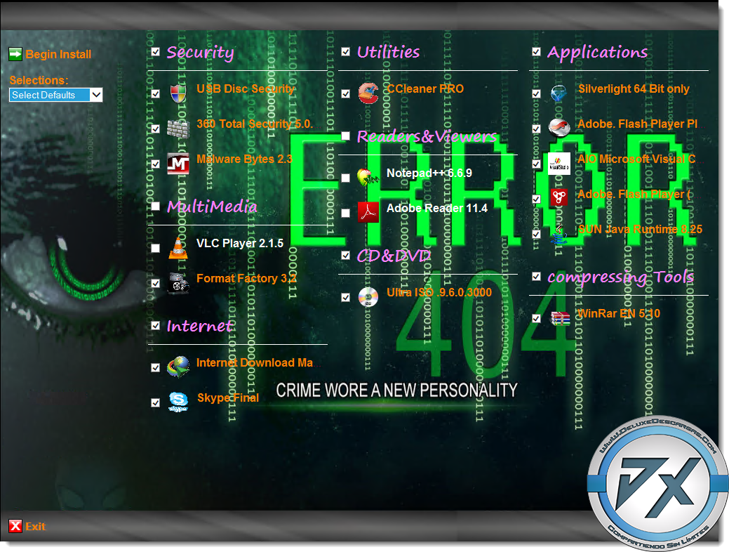Windows 7 Gamer Edition x64 By UNDEADCROWS ISO torrent ...