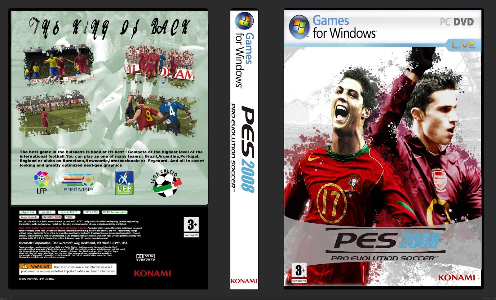 PES 2011 System Requirements