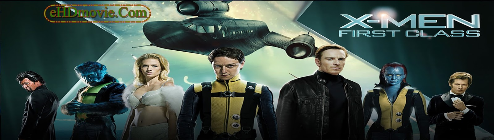 X-Men: First Class 2011 Full Movie Dual Audio [Hindi – English] 1080p - 720p - 480p ORG BRRip 400MB - 750MB - 2.7GB ESubs Free Download