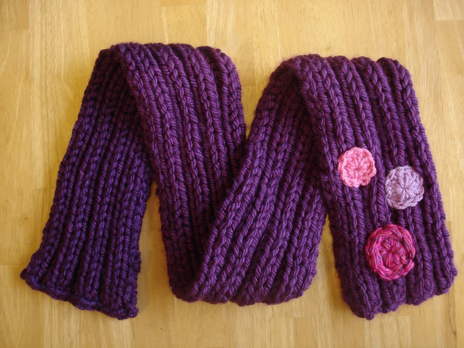 Hand Knitting Hat and Scarves For Children
