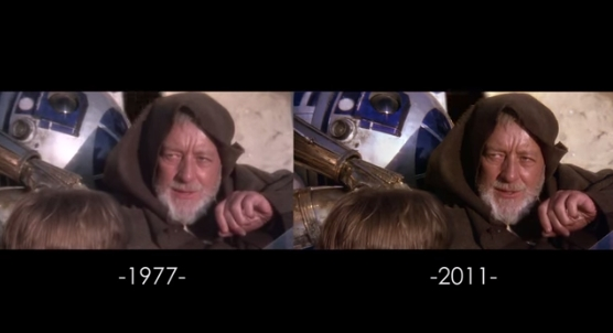 See Almost Every Change To Star Wars Original Trilogy The Geek Twins