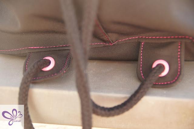 Bunte Ösen in pink - 8mm -  von Snaply Nähkram