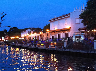 Melaka River At Night
