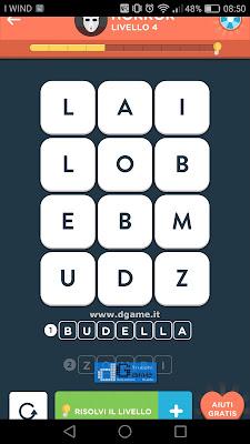 WordBrain 2 soluzioni: Categoria Horror (3X4) Livello 4