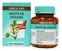 Cápsulas de Aceite de Onagra de Arkocaps