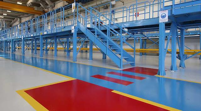 pavimenti industriali in resina