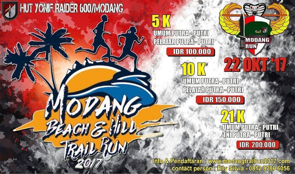 Modang Beach & Hill Trail Run • 2017