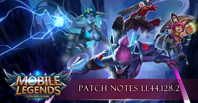 Mobile Legends 1.1.44.128.2 Patch Notes Released!