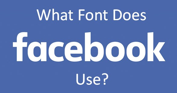 what font does facebook use