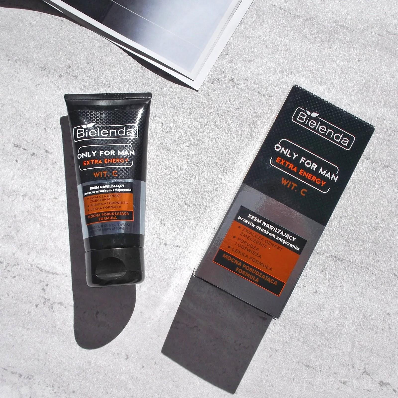 Wegański krem do twarzy dla mężczyzn - Bielenda Extra Energy