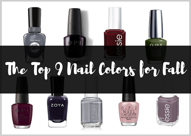 The Top 9 Nail Colors for Fall