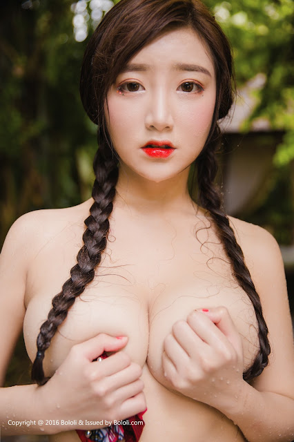 Hot girls Beauty Asian Girls sexy body model Mang Guo 12