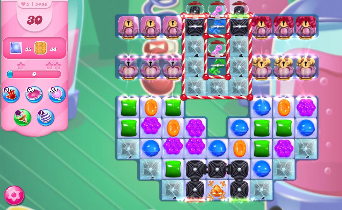 Candy Crush Saga level 5466