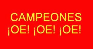 Campeones Campeones Oe oe oe Partitura de Flauta, Violín, Saxofón Alto, Trompeta, Viola, Oboe, Clarinete, Saxo Tenor, Soprano Sax, Trombón, Fliscorno, chelo, Fagot, Barítono, Bombardino, Trompa o corno, Tuba...