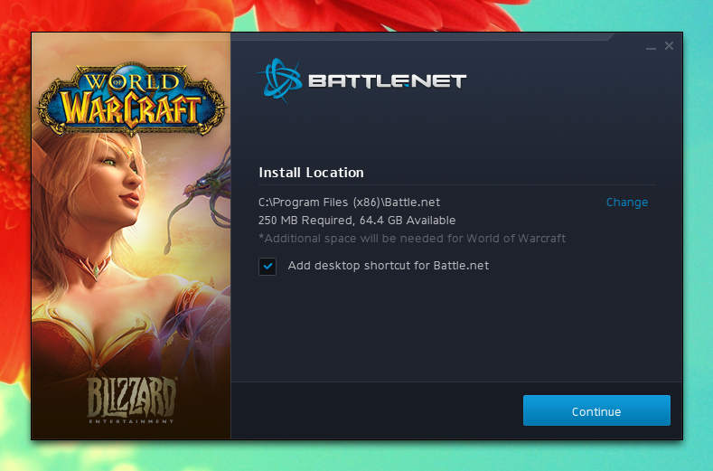 Battle.net installer Ubuntu