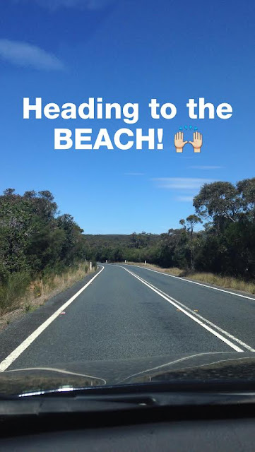 Heading to Wattamolla Beach