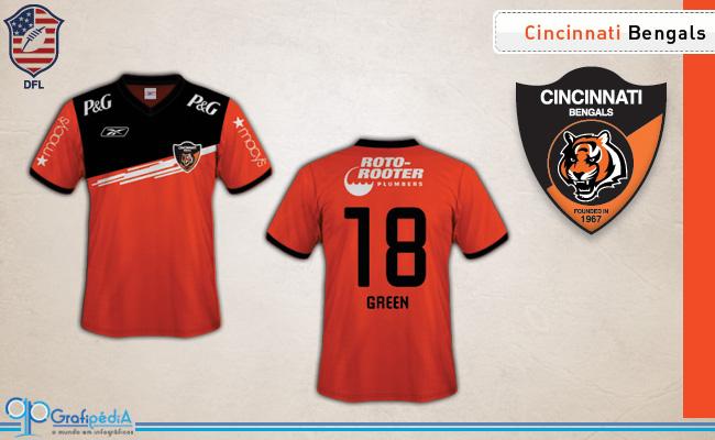 cdacfb5d03cb7 Equipes de futebol americano ganham camisas de clubes da Série D ...