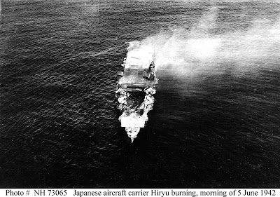 Japanese aircraft carrier Hiryu