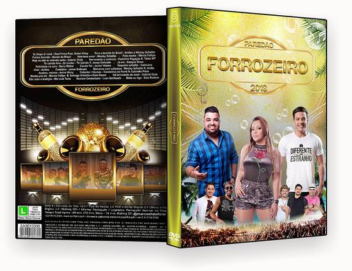 DVD-R – PAREDAO FORROZEIRO – OFICIAL