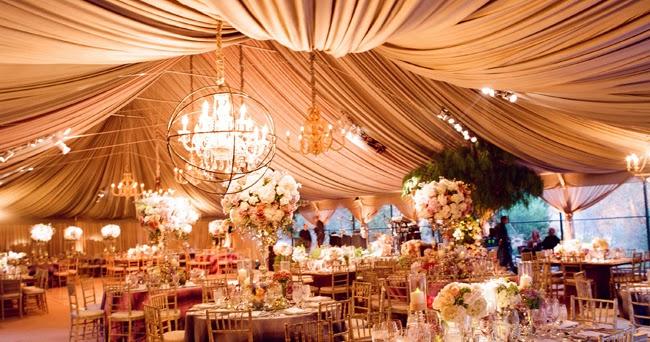 Castle Manor: 7 Ways To Drape Your Wedding Reception