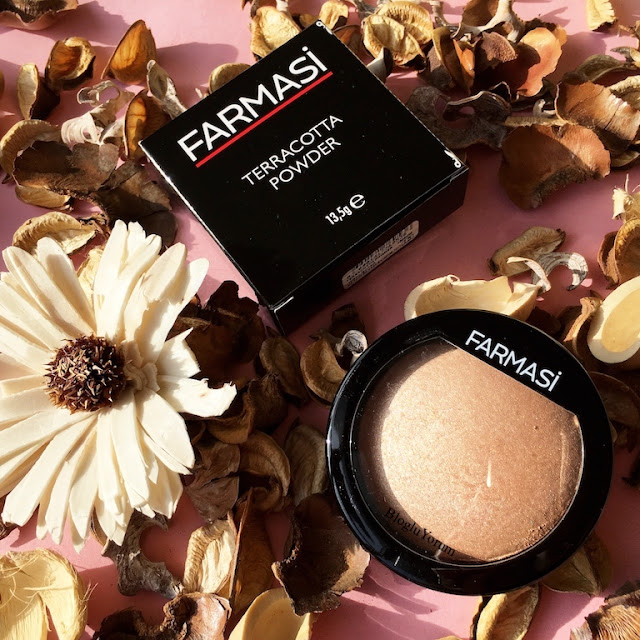 farmasi terracotta powder aydınlatıcı pudra highlighter 4