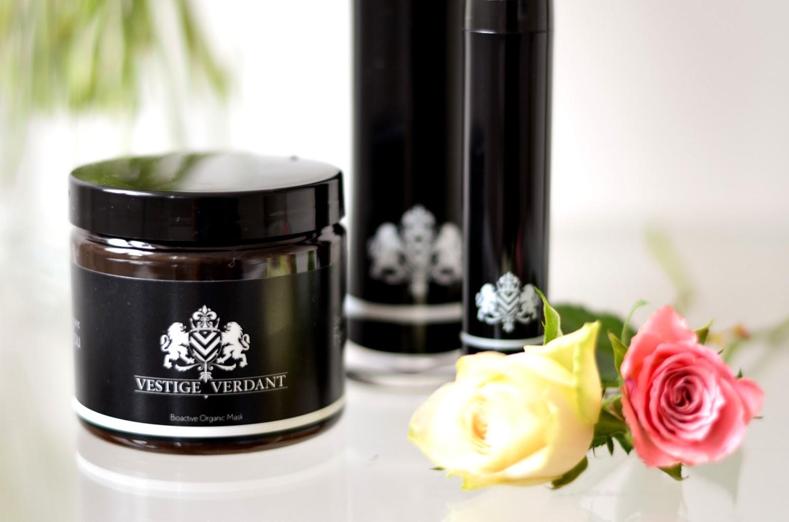 vestige verdant luxury organic skincare organic face mask