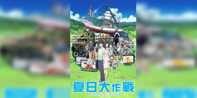 Rekomendasi Anime Game, Tentang Masuk Dunia Game Summer Wars terbaik