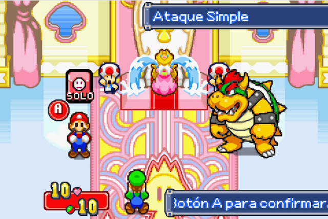 Mario & Luigi: Superstar Saga - Español - Captura 4