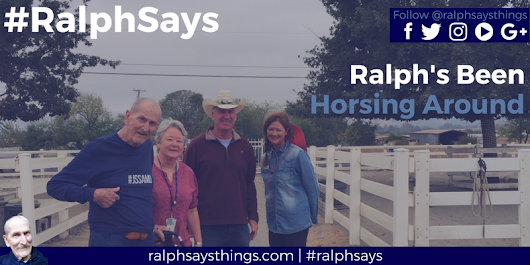 Ralph's Been Horsing Around