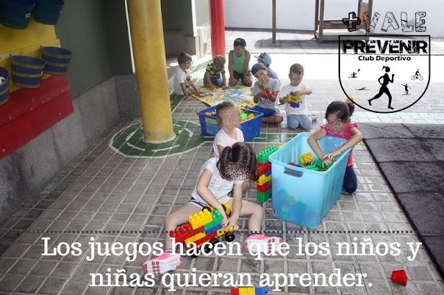 El juego en los niños y niñas es imprescindible para un desarrollo sano y feliz