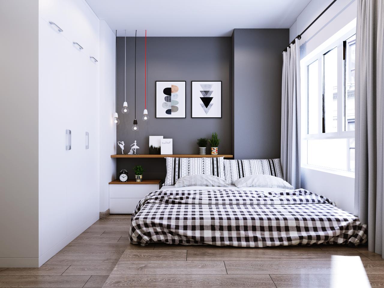 Phòng ngủ dự án Galaxy Nguyễn Xiển