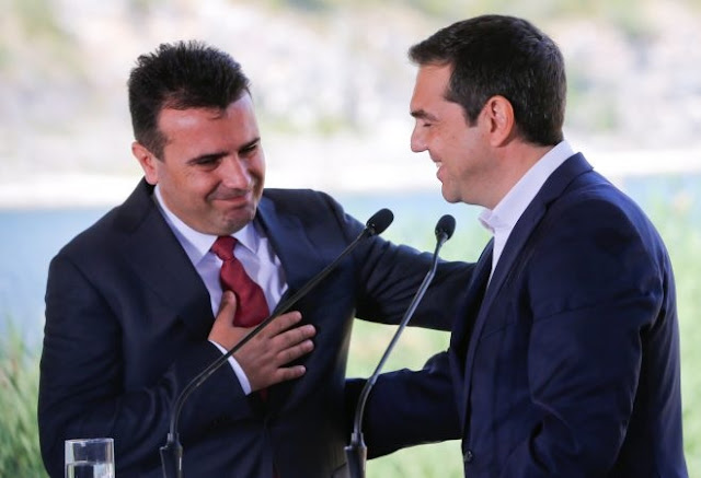 Tsipras and Zaev potential candidates for the Nobel Peace Prize, according Swedish journalist