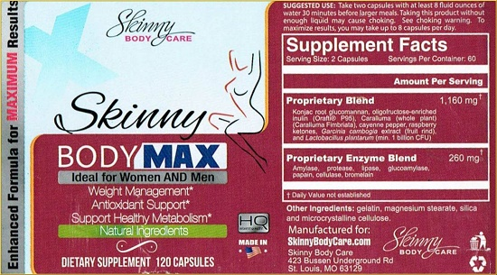 Skinny Body Max Label