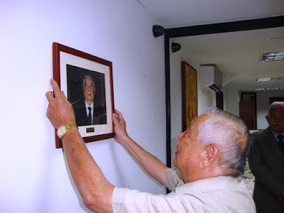 Ex presidente José Leo Contreras