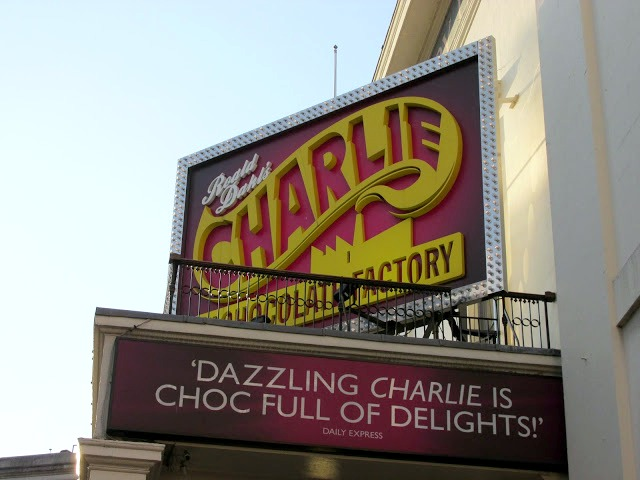 10 things to do in London, Charlie and the chocolate Factory