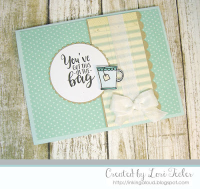 You've Got This in the Bag card-designed by Lori Tecler/Inking Aloud-digital images from Verve Stamps