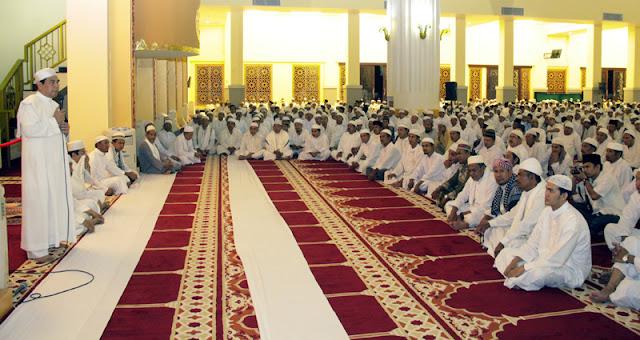 Masjid ini dibangun dengan uang rakyat Wisata Religi, Masjid Agung Madani Rokan Hulu