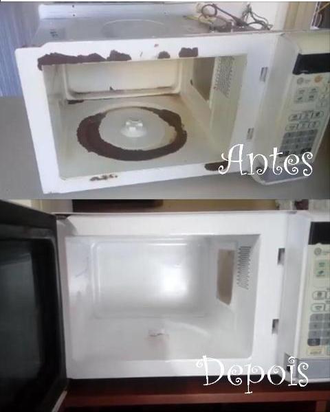 como reformar seu microondas em casa