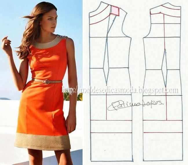 летнее платье фасон сшить