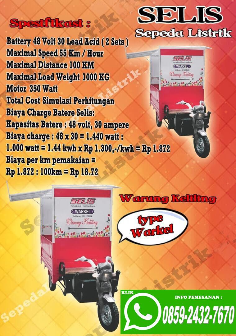0859 2432 7670 Wa Jual Sepeda Listrik Murah Jakarta Motor Selis Type Merak Ready Stok