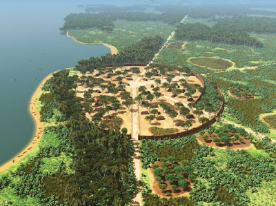 Kuhikugu, enormous ancient city of the Amazon River