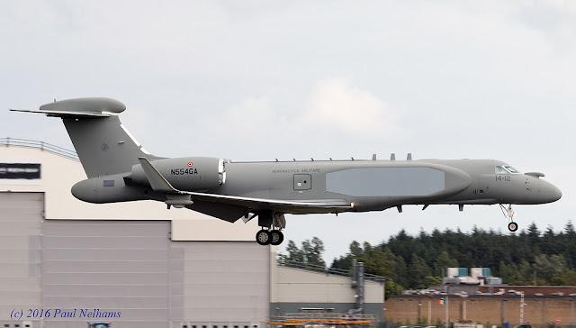 Aeronautica Militare Gulfstream G550 CAEW